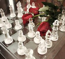 glass roses by NessaStar