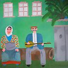 A musician couple from Bozkır by Meriem Ben-Salah Akin