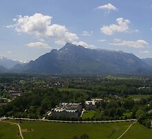 South from Hohensalzburg II by Susan Dailey