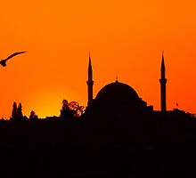 Sunset over Istanbul by PhotosOnTheRoad