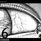 December 26th - Something in your eye by 365 Notepads -  School of Faces
