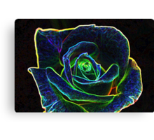 Digital Rose Canvas Print