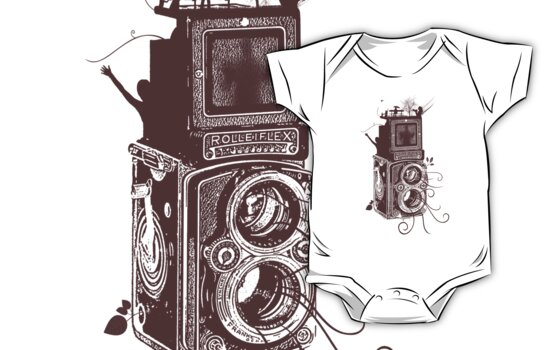 Retro Rolleiflex - Evolution of Photography - Vintage #2 by Denis Marsili
