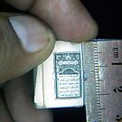 World`s Smallest Quran-e-Pak by HAMID IQBAL KHAN