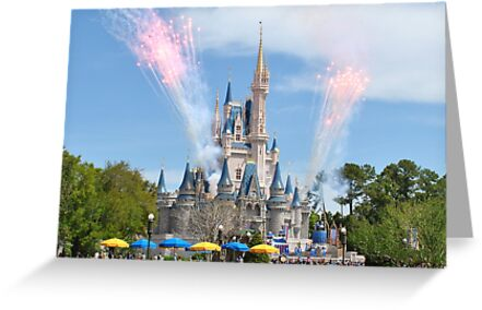 Disney Castle by Bill Colman