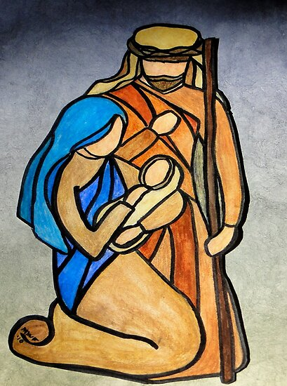 Breath of Heaven - The Holy Family by Marsha Free