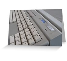 Atari ST Greeting Card