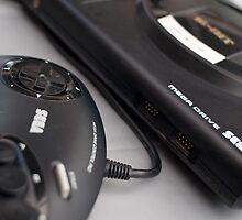 Sega Megadrive by billlunney