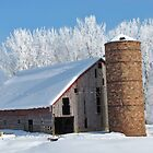 Barn In Winter by lorilee