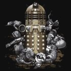 Exterminated - Dr Who/Davros Dalek Destroys to Rule Them All by jimiyo