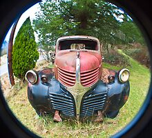 Vintage Dodge Truck by Clayton Bruster