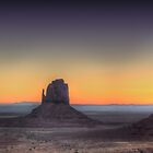 Monument Valley - Morning Twilight by Ted Lansing