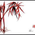 &quot;Nature&#x27;s Kiss&quot; Original Chinese Brush Painting by Rebecca Rees