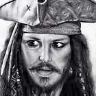 Captain Jack Sparrow by Allie Keech