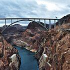 The Mike O'Callaghan - Pat Tillman Memorial Bridge by James Watkins