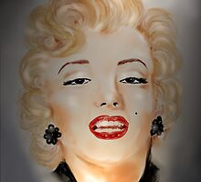Portrait Marilyn Monroe by Trish Loader