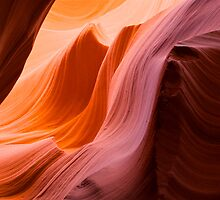The Wave at Antelope Canyon by Alex Cassels