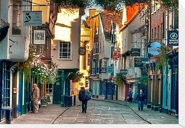 Stonegate - York,England,UK by Trevor Kersley