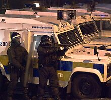 Riot police by fatty-arbuckle