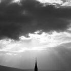 Church spire - Belfast by fatty-arbuckle