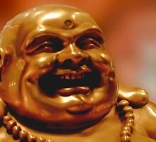 Laughing Buddha by Carol F. Austin