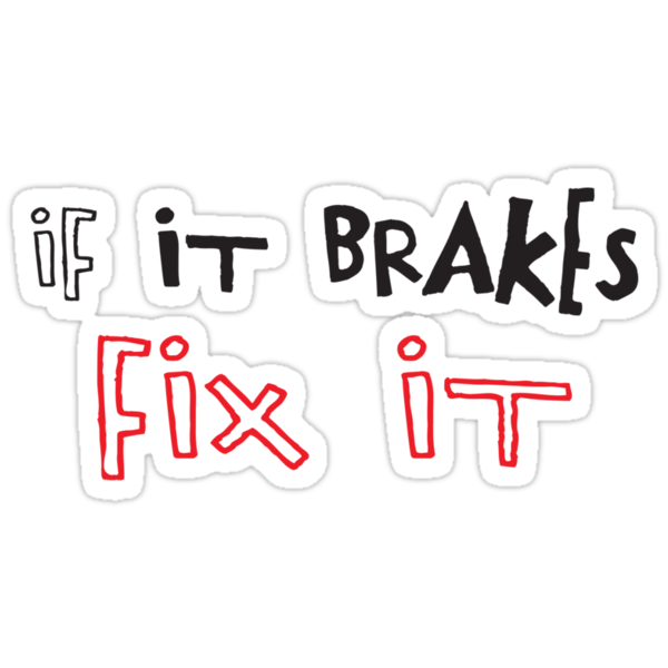 If It Brakes Fix It Hoody by Ipedal