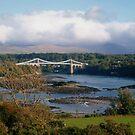 Menai Suspension Bridge, North Wales, UK by Michaela1991