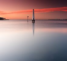 Dawn at Port Melbourne #1 by Jason Green