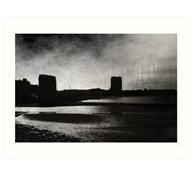 On Margate sands I can connect nothing with nothing Art Print
