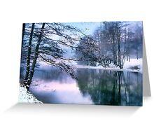Pastel Pond Greeting Card
