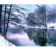 Pastel Pond Photographic Print