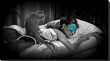 Holly and Cat - Breakfast at Tiffany's by Regan Hansen