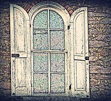 Carriage House Window  by David Dehner