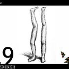 December 29th - A pair of legs by 365 Notepads -  School of Faces