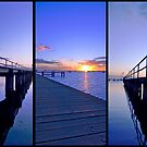 Sunrise Pier by Andrew (ark photograhy art)