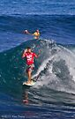 Jeremy Flores at 2010 Billabong Pipe Masters In Memory Of Andy Irons by Alex Preiss