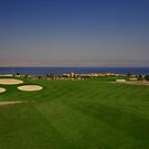 Taba Heights Golf Resort Hole 9 Par 5 by Helen Shippey