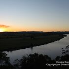 Manning River Sunset - Taree West by Jason Allan