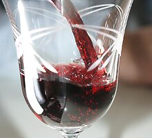 Red red wine by WET-photo