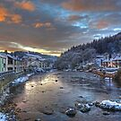 River Leven at Christmas by VoluntaryRanger