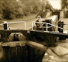 Earlier times at Grindley Brook Locks by Ian Ker