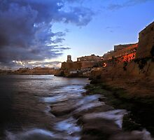 Valletta Point Malta by Ronald cox