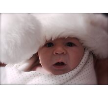 Christmas Baby Photographic Print