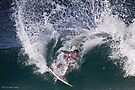 Tylor Knox at 2010 Billabong Pipe Masters In Memory Of Andy Irons by Alex Preiss