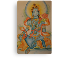 Green Tara: Goddess of Compassion Canvas Print