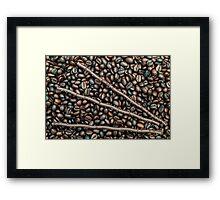 Sticks 'n Beans Framed Print