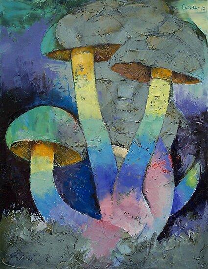 Magic Mushrooms by Michael Creese