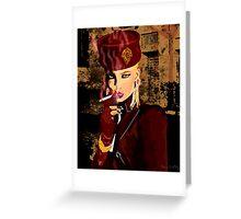 Stephonie Valentino Greeting Card
