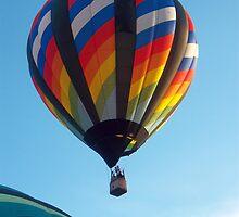 Balloon Launch at Dawn by Graciela Maria Solano