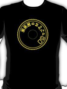 Camera Mode Dial T-Shirt